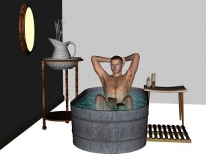 Le bain est un outil millenaire de gestion du stress