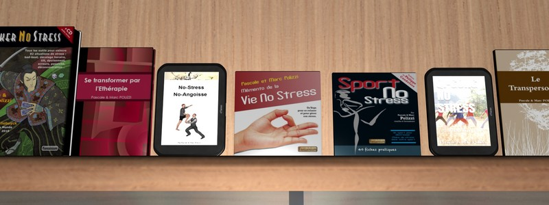 Livres No-Stress, … Rayonner !
