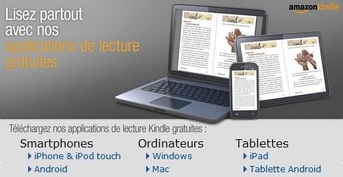 Lire gratuitement et facilement un Kindle