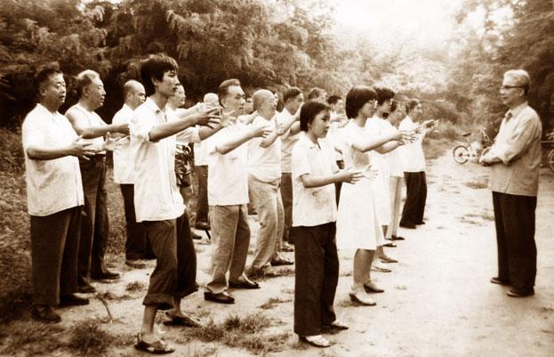 Qi-gong de l'Arbre etendurance