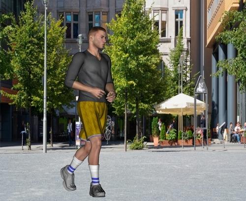 Le jogging en ville pour les non sportifs est une source de stress.