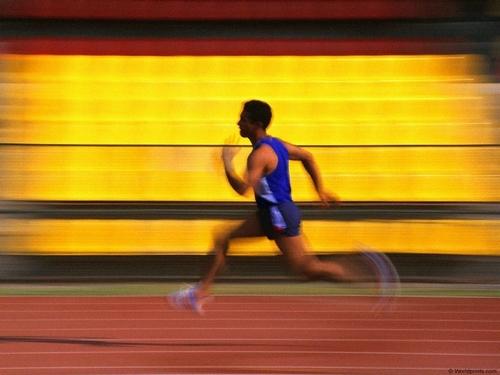 Athlétisme : oui , Jogging : non