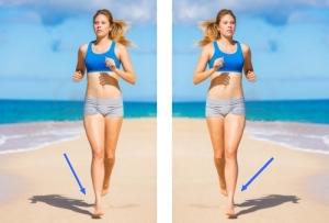 Le jogging sur la plage n'est pas sans piège