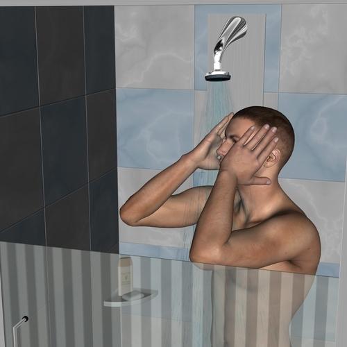 La douche un outil anti-stress
