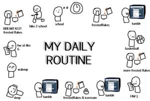 Une bonne routine est journalière