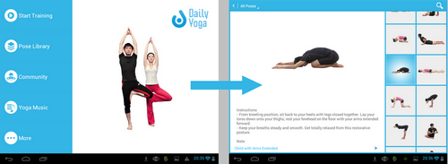 Application Daily-Yoga