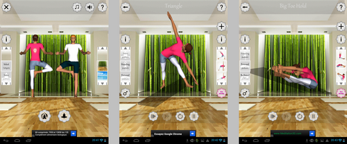 Application Yoga-Fitness