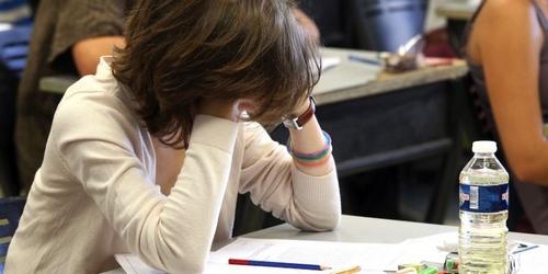 Stress du baccalaureat