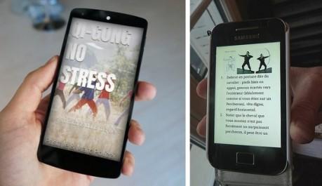 Qi-gong No Stress sur Smartphone et Tablette