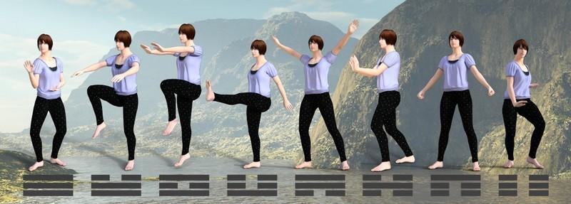 Les 8 Qi-gong des 8 énergies du Bagua